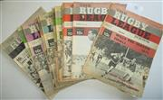 Sale 8404S - Lot 42 - 1971 Rugby League News Programmes - Vol. 55, Nos. 8, 9, 11, 14, 16, 20, 22, 24, 27, 31, 32, 33, 34, 36 & 37 (October)