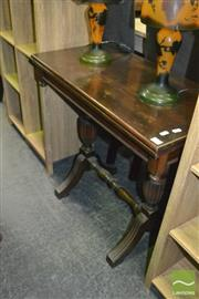 Sale 8440 - Lot 1060 - Fold Over Card Table