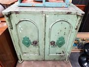 Sale 8684 - Lot 1023 - Victorian George Prichs Double Door Safe (key in office)