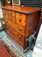 Sale 8693 - Lot 1039 - Late 19th Century Cedar Chest of Seven Drawers, with rounded corners