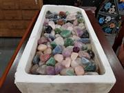 Sale 8724 - Lot 1014 - Tray of Mixed Polished Gems