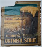 Sale 9019 - Lot 2066A - Walter Jardine, Tooheys Oatmeal Stout, colour lithograph (AF - losses, tears, crease lines) , 100 x 74 cm,