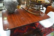 Sale 8328 - Lot 1084 - Regency Style Dining Table with Twin Pedestal Base on Claw Feet