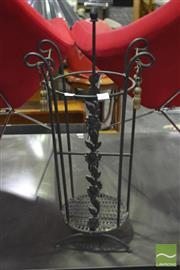 Sale 8326 - Lot 1226 - Metal Umbrella Stand