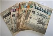 Sale 8404S - Lot 43 - 1972 Rugby League News Programmes - Vol. 53, Nos. 4 (Wills Cup), 6 (Wills Cup), 9, 11, 12, 16, 22, 23, 24, 28, 30, 32 & 40