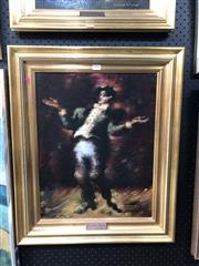 Sale 8811 - Lot 2004 - Arthur Nichol  The Lyric Tenor oil on board, frame size: 62 x 51cm, signed lower right