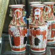 Sale 8351 - Lot 49 - Chinese Hand Painted Vases