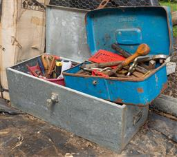 Sale 9191W - Lot 746 - Two tool boxes with contents