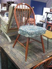 Sale 7933A - Lot 1190A - Set Of Five Rail Back Dining Chairs