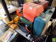 Sale 8464 - Lot 2244 - Tool Boxes, some with contents & Power Tools