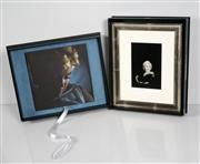 Sale 8633A - Lot 5025 - Eve Arnold (1912 - 2012) - Marilyn Monroe, 1960 & Marilyn Monroe by Eve Arnold (book) 21.5 x 14.5cm (frame size: 41 x 33.5cm)
