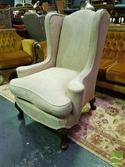 Sale 8545 - Lot 1019 - Early Wingback Armchair