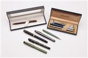 Sale 9040 - Lot 49 - A Collection Of Pens Incl Parker And 14kt Gold Nibbed