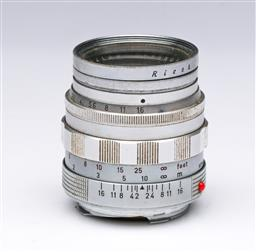 Sale 9093 - Lot 9 - A Leitz Wetzlar Summilux Lens 1:1.4/50 (No.1688805)