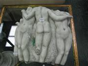 Sale 7972A - Lot 1045 - Set of Five Nude Wall Hanging