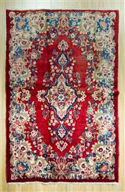 Sale 8589C - Lot 36 - Persian Kerman Vintage, 200x135