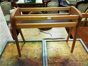 Sale 8611 - Lot 1067 - Retro Timber Plant Stand