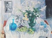 Sale 8961A - Lot 5016 - Margaret Olley (1923 - 2011) - Eucharist Lillies, 2004 91.5 x 109 cm