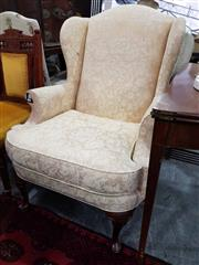 Sale 8934 - Lot 1082 - Moran Fabric Upholstered Wingback Armchair