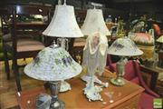 Sale 8352 - Lot 1077 - Collection of Table Lamps (5)