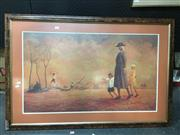 Sale 8753 - Lot 2066 - Russel Drysdale Print