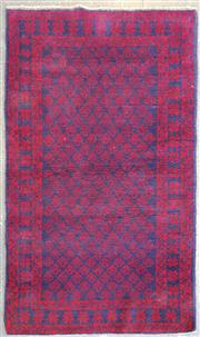 Sale 9043 - Lot 1081 - Hand Knotted Pure Wool Persian Baluchi (150 x 90cm)