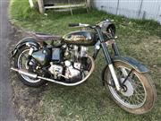Sale 8380A - Lot 1C - Royal Enfield motorcycle, workshop manual, paperwork and parts included, VIN/Chassis G249645, Frame No. G2/77880, Engine No. 2/77880...