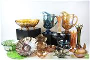 Sale 8540 - Lot 51 - Carnival Glass Collection