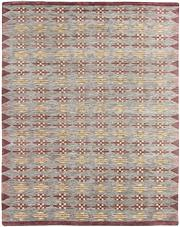 Sale 8697A - Lot 91 - A Cadrys Pure Wool Indian Scandi Mid-Century Rug, 242 x 301cm, RRP $2300