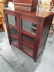 Sale 8843 - Lot 1036 - Timber and Glass Display Cabinet