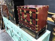 Sale 8854 - Lot 1003 - Pair Of Korean Chests With Two Drawers