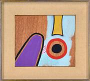Sale 8389 - Lot 534 - Alan Davie (1920 - 2014) - Wheel No. 1, Nov. 1968 26 x 30.5cm