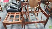 Sale 8409 - Lot 1074 - Sergio Rodrigues Sheriff Lounge Chair and Ottoman