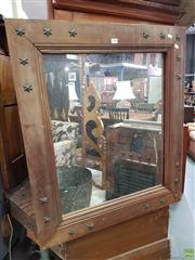 Sale 8580 - Lot 1028 - Timber Framed Mirror