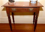 Sale 7997 - Lot 4 - CEDAR HALL TABLE WITH DRAWER