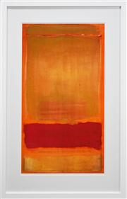 Sale 8011A - Lot 13 - Mark Rothko (1903 - 1970) After. - Untitled, c.1949 94 x 51.5cm (frame 125 x 79cm)