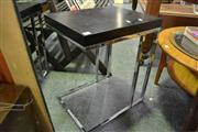 Sale 8127 - Lot 872 - Pair of Modern Side tables