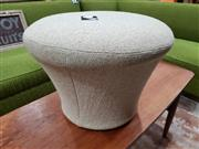 Sale 8930 - Lot 1064 - Early Upholstered Arifort Footstool