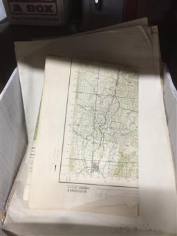 Sale 9152 - Lot 2406 - Collection of Maps of Colo Valley & Hunter Region