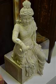 Sale 8031 - Lot 1091 - Resin Statue of Lady