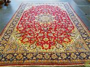 Sale 8566 - Lot 1375 - Persian Kashan (365 x 265cm)