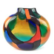 Sale 8607R - Lot 11 - Art Glass Vase Signed M. Williams (H: 20cm)