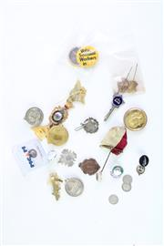 Sale 8835C - Lot 78 - Group Of Fobs, Pins And Medals Incl Masonic