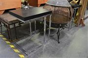 Sale 8127 - Lot 844 - Pair of Modern Side tables