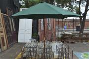 Sale 8326 - Lot 1395 - Outdoor Umbrella in Stand