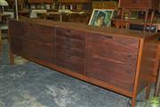 Sale 8350 - Lot 1062 - Rosewood Sideboard by Meridew