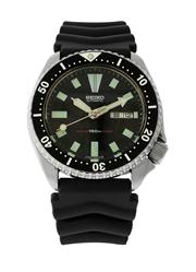 Sale 8439A - Lot 50 - A vintage Seiko c1984 dive watch, 6309 - 729A, with black dial 41 mm, Day/Date, mineral glass, serviced