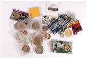 Sale 9035M - Lot 877 - Large collection of coins and medallions incl. silver examples