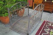 Sale 8272 - Lot 1023 - Metal Pond Bridge