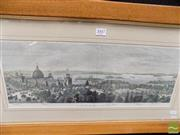 Sale 8458 - Lot 2016 - Artist Unknown (XIX) - The Palace from the Steeple of St James Church 18 x 51.5cm
